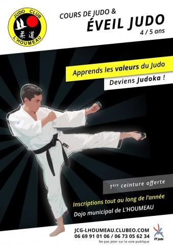 Affiche Flyer Éveil Judo - Baby Judo