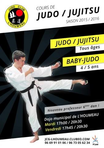Affiche Flyer Judo Jujitsu