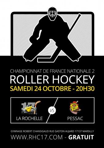 RHC17 - Affiche Roller Hockey 2015-2016 proposition