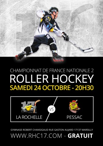 RHC17 - Affiche Roller Hockey 2015-2016 retenue